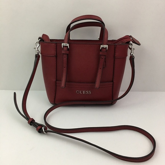 c33a5098cac5 Guess by Marciano Handbags - Guess Delaney Mini Petite Tote Crossbody Purse